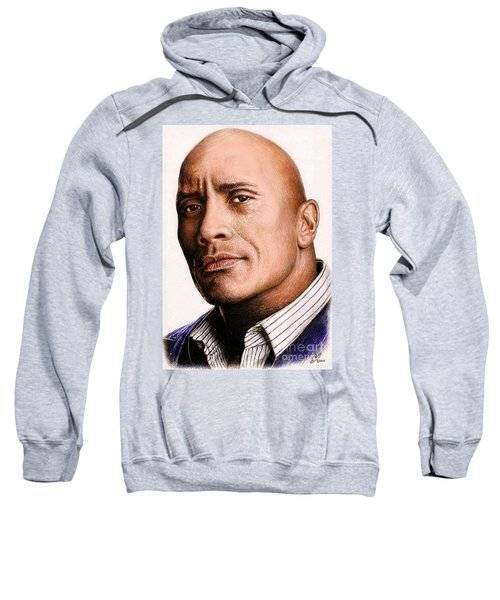 Dwayne Johnson Color Sweatshirt