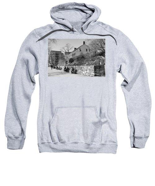 Dyckman Farmhouse  Sweatshirt by Cole Thompson