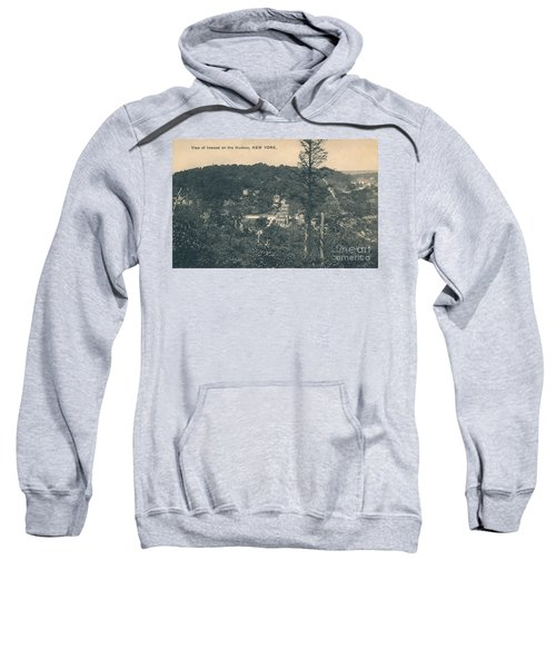 Dyckman Street At Turn Of The Century Sweatshirt by Cole Thompson