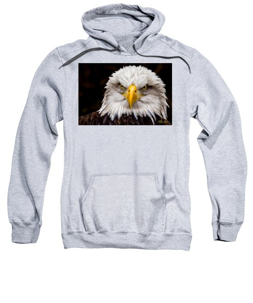 Defiant And Resolute - Bald Eagle Sweatshirt