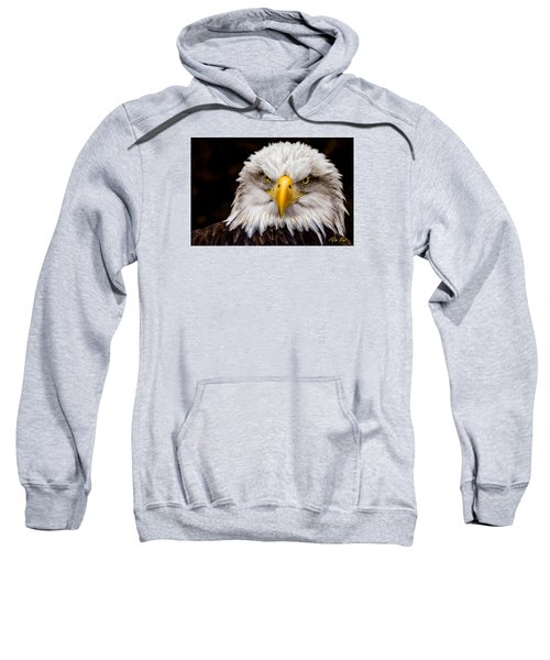 Defiant And Resolute - Bald Eagle Sweatshirt