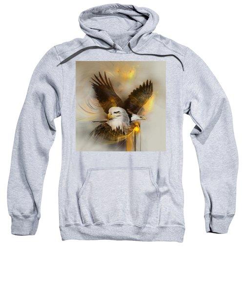 Eagle Pair Sweatshirt