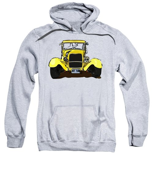 Early 1930s Ford Yellow Sweatshirt