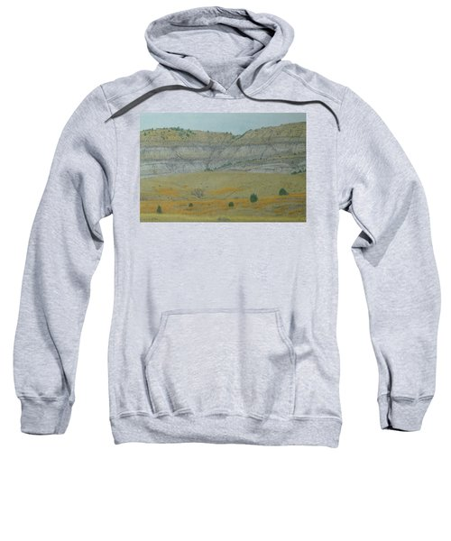 Early May On The Western Edge Sweatshirt
