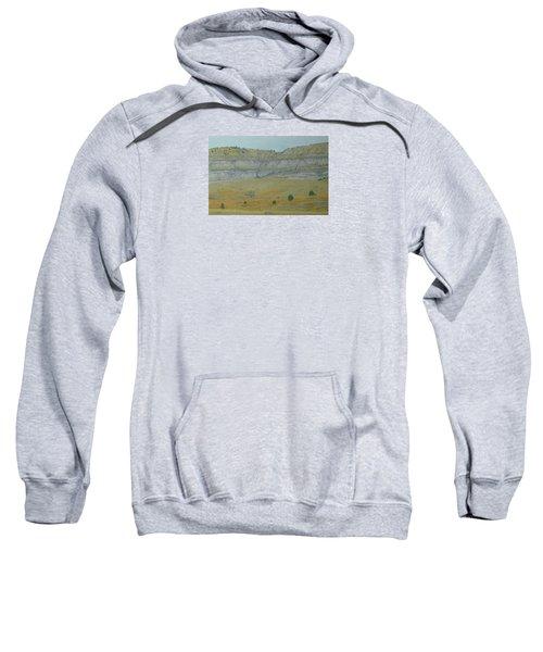 Early May On The Western Edge Sweatshirt