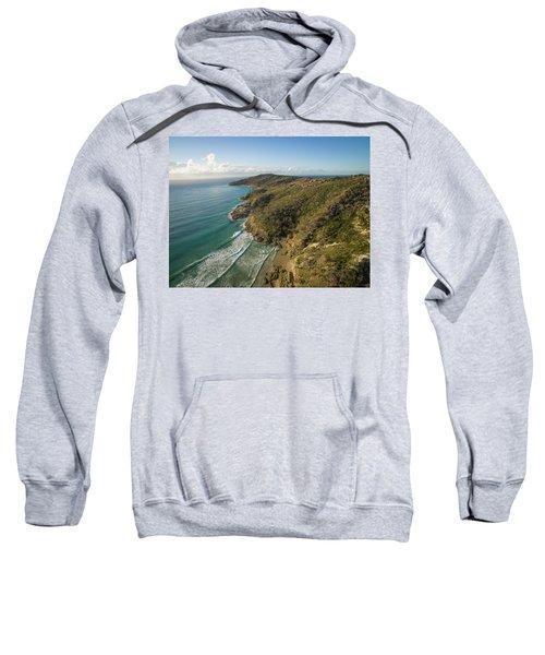 Early Morning Coastal Views On Moreton Island Sweatshirt