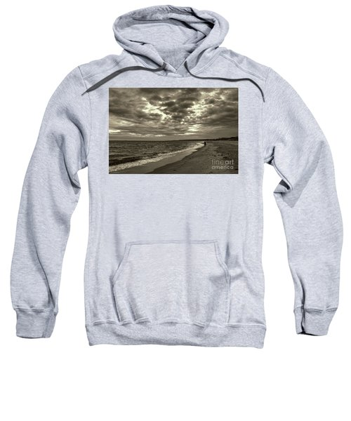 Early Morning Walk On Virginia Beach Sweatshirt