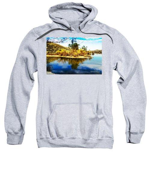 East Bay, Canyon Lake, Ca Sweatshirt