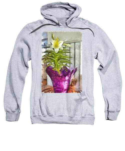 Easter Lily And Doll Sweatshirt