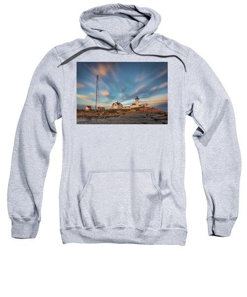 Eastern Point Lighthouse At Sunset Sweatshirt