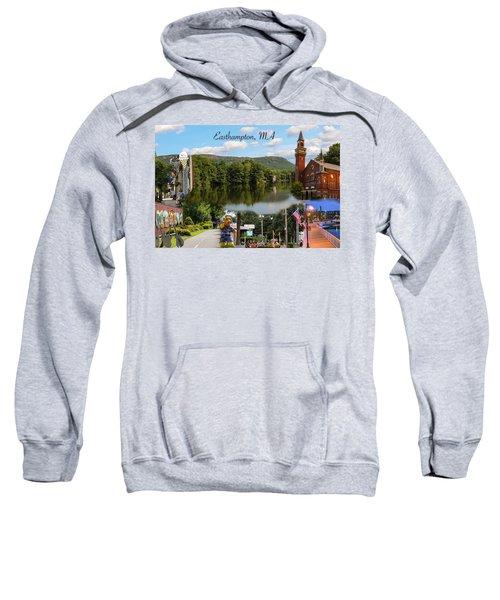 Easthampton Ma Collage Sweatshirt