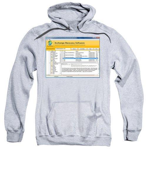 Edb To Ps T Software  Sweatshirt