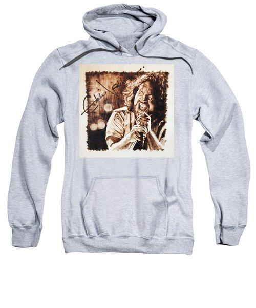 Eddie Vedder Sweatshirt by Lance Gebhardt