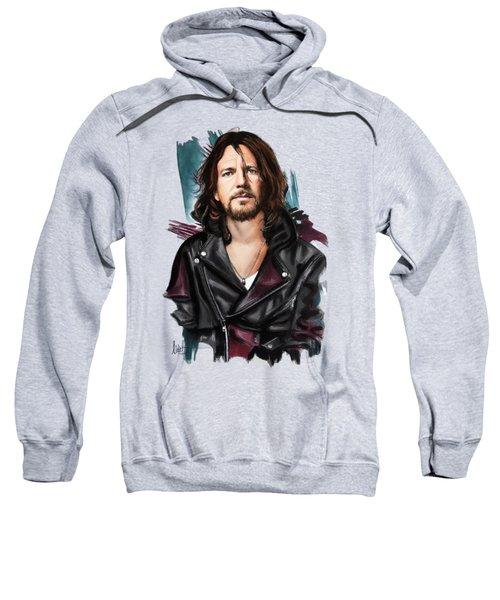 Eddie Vedder Sweatshirt by Melanie D