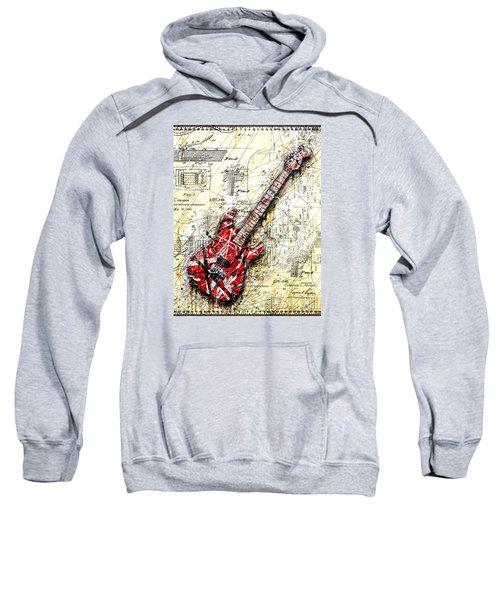 Eddie's Guitar 3 Sweatshirt by Gary Bodnar