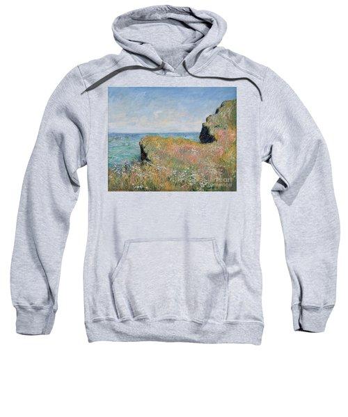 Edge Of The Cliff Pourville Sweatshirt