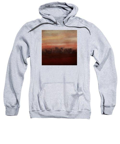 Edmonton At Sunset Sweatshirt
