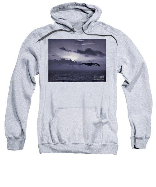 Pelican At Sunrise Sweatshirt