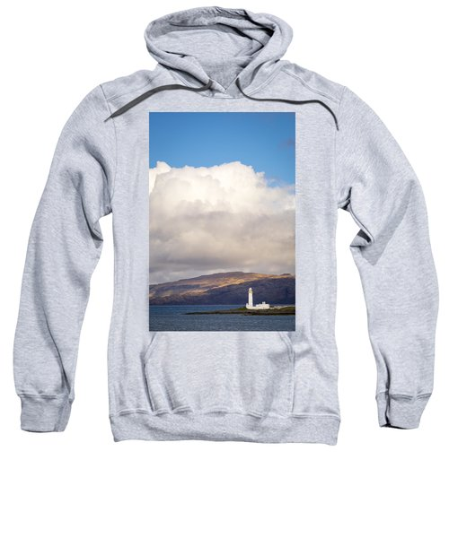 Eilean Musdile Lighthouse On Lismore Sweatshirt