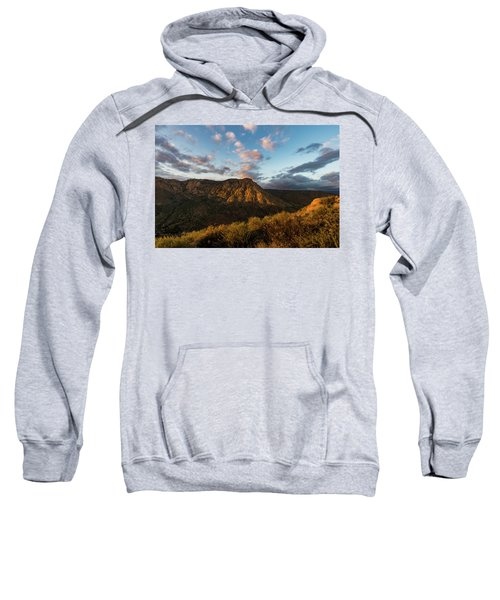 El Cajon Mountain Last Light Sweatshirt