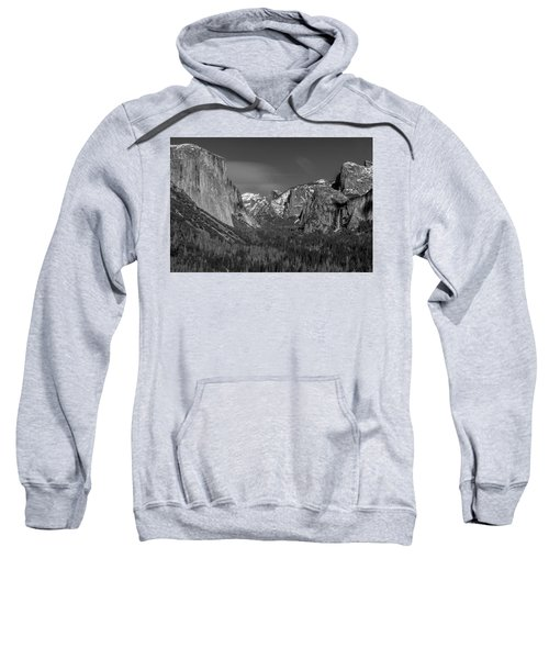 El Capitan And Half Dome Sweatshirt