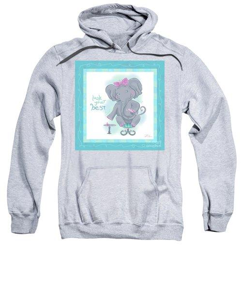 Elephant Bath Time Look Your Best Sweatshirt