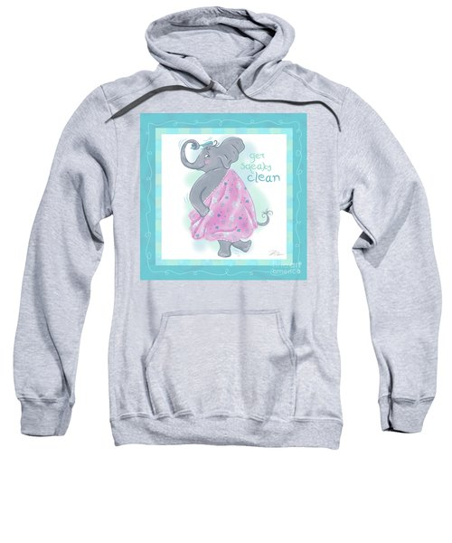 Elephant Bath Time Squeaky Clean Sweatshirt