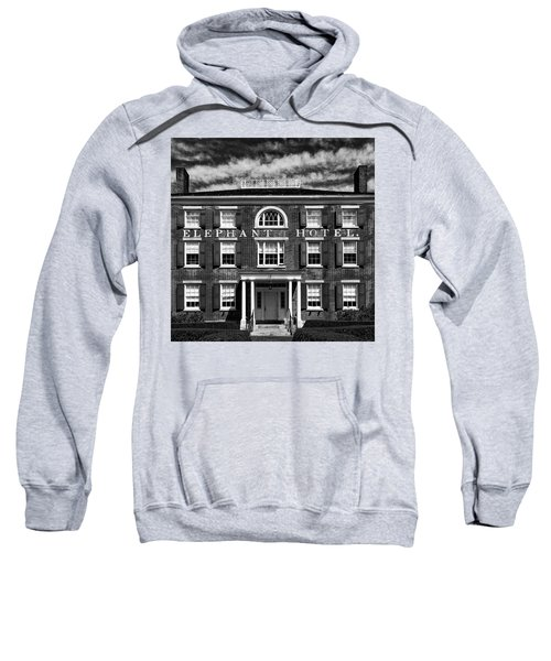 Sweatshirt featuring the photograph Elephant Hotel by Eric Lake