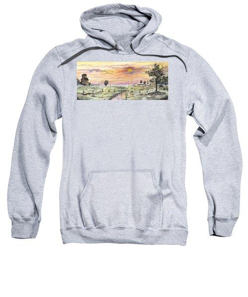 Elevator In The Sunset Sweatshirt