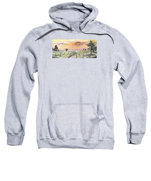 Elevator In The Sunset Sweatshirt