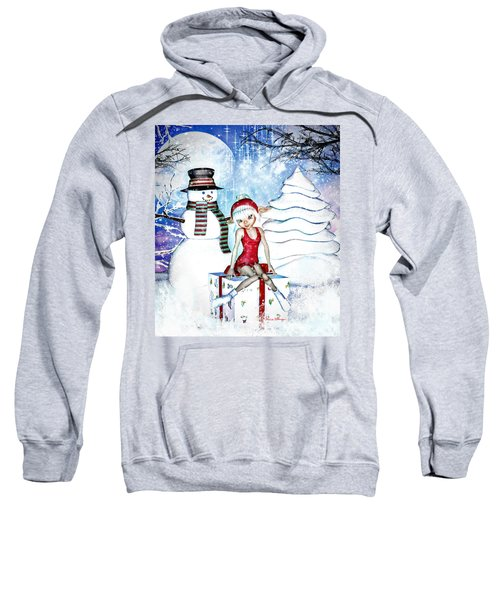 Elfin Winter Holidays Sweatshirt