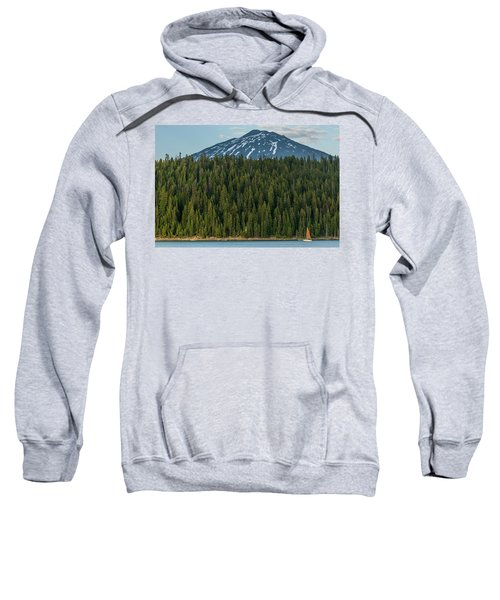 Elk Lake Sailing  Sweatshirt