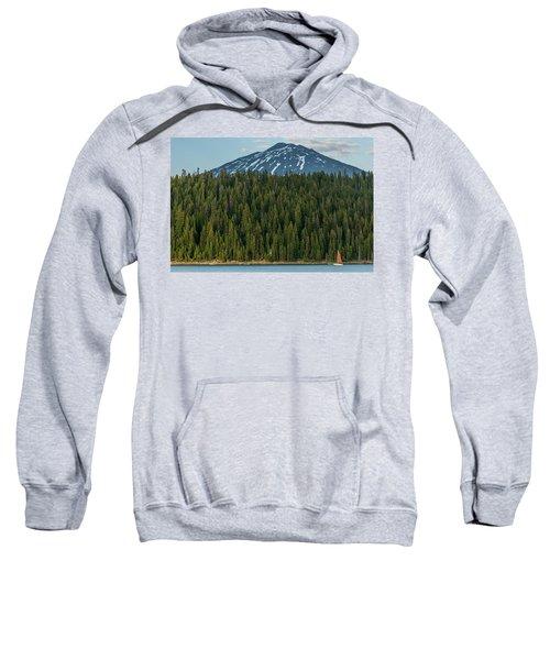 Elk Lake Sailing  Sweatshirt
