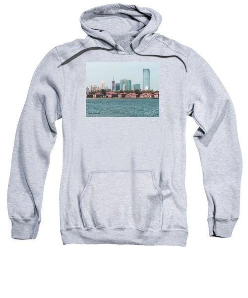 Ellis Island And Nyc Sweatshirt