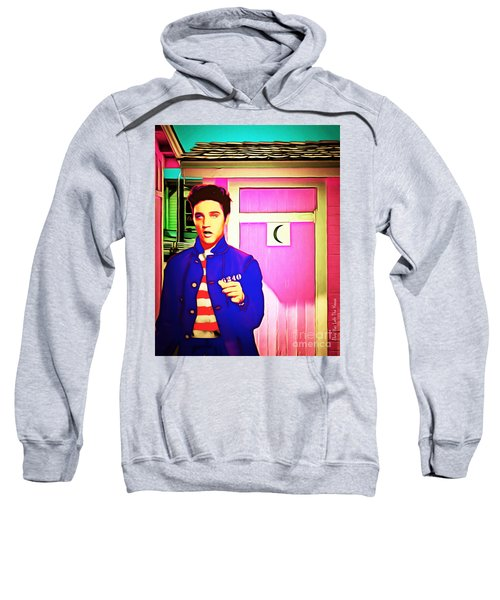 Elvis Has Left The House 20151225 Sweatshirt