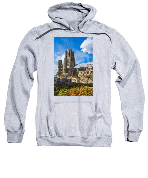 Ely Cathedral And Garden Sweatshirt