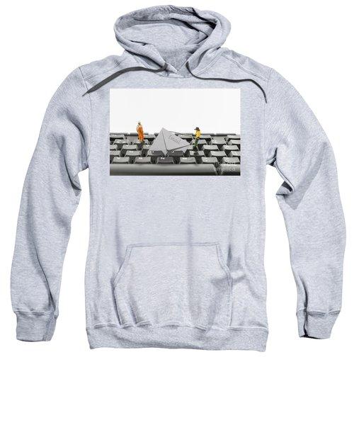 Email Fishing By Hackers Sweatshirt