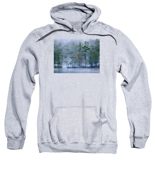 Emerald Lake In Fog Emerald Lake State Sweatshirt