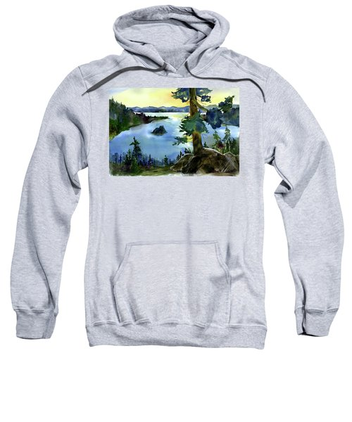 Emerald Morn, Lake Tahoe Sweatshirt