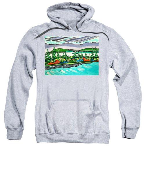 Emerald Sea Islands Sweatshirt