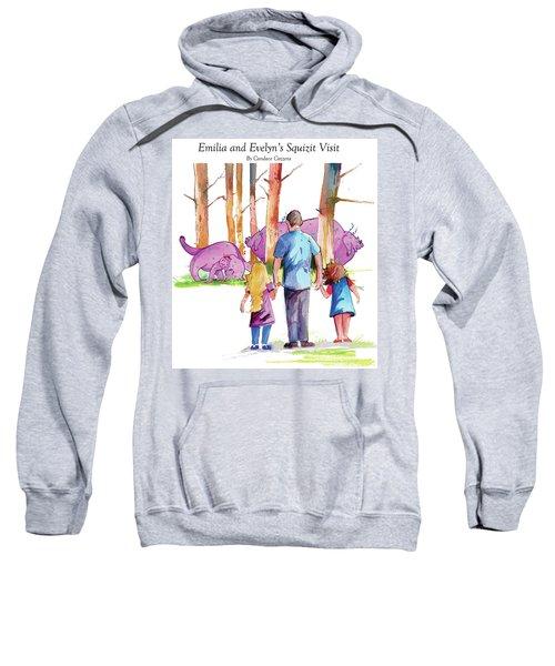 Emilia And Evelyn's Squizit Visit Sweatshirt