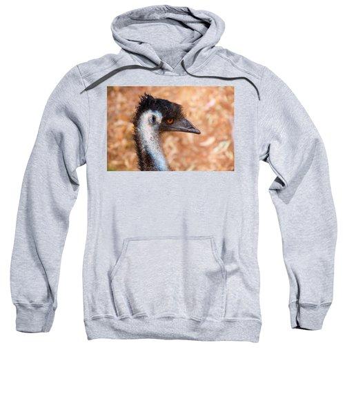 Emu Profile Sweatshirt by Mike  Dawson