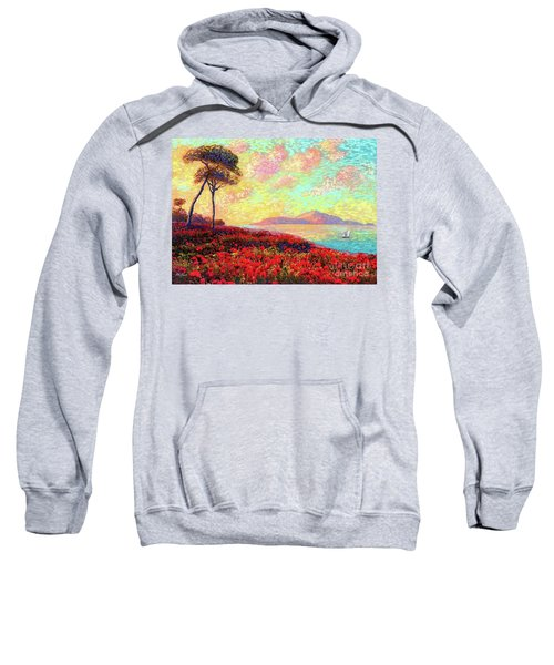 Enchanted By Poppies Sweatshirt