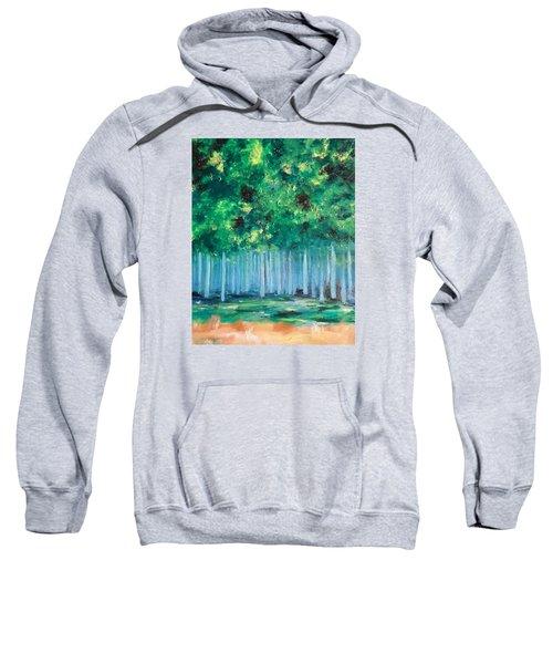 Enchanted Poplars Sweatshirt