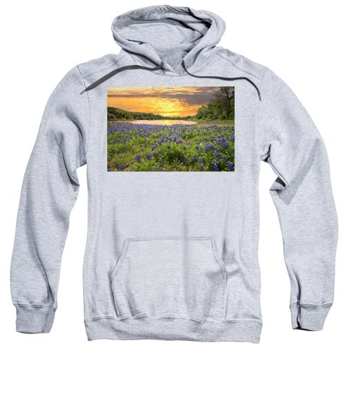 End Of A Bluebonnet Day Sweatshirt