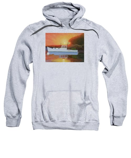 End Of A Work Day Sweatshirt