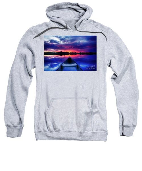 Sweatshirt featuring the photograph End Of Day by Scott Kemper