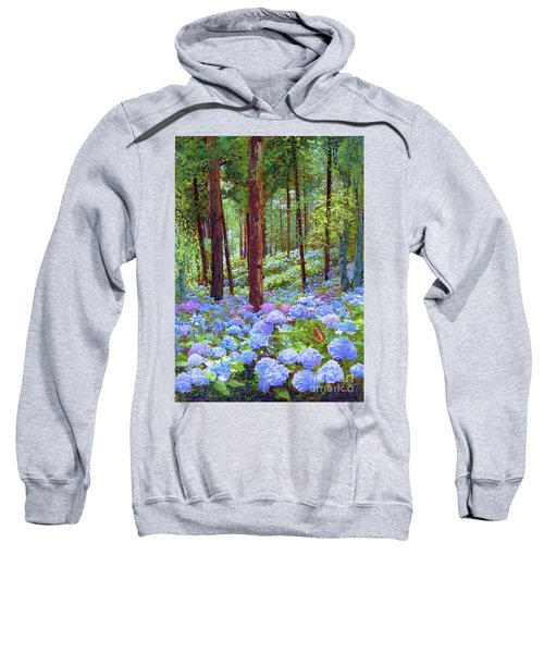 Endless Summer Blue Hydrangeas Sweatshirt