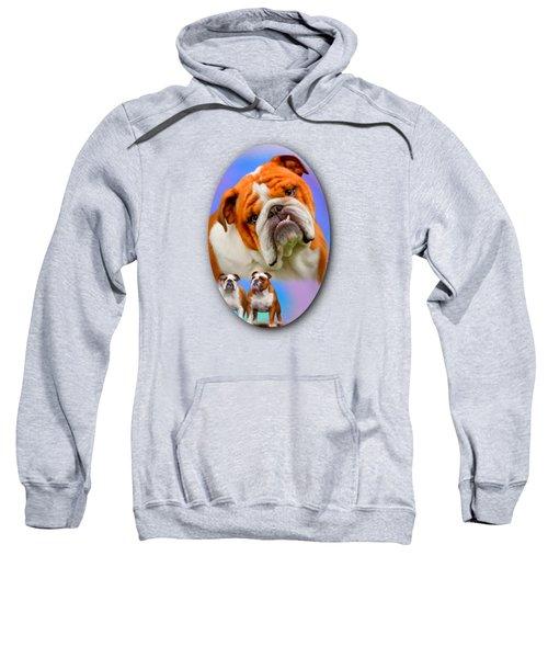 English Bulldog- No Border Sweatshirt