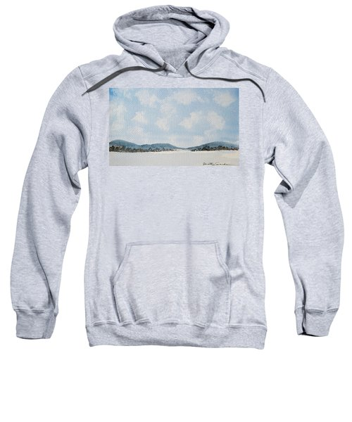 Entrance To Moulters Lagoon From Bathurst Harbour Sweatshirt